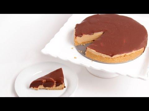 No Bake Peanut Butter Cheesecake Recipe - Laura Vitale - Laura in the Kitchen Episode 763