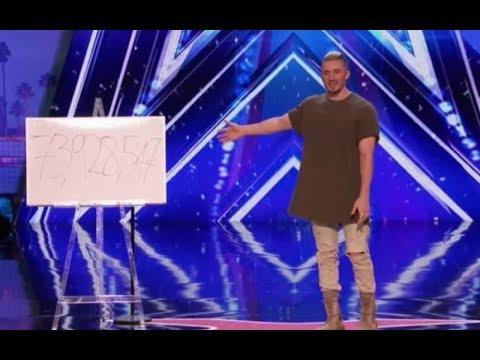 Leaked: Tom London SHOCKING Math Magic on America's Got Talent 2017