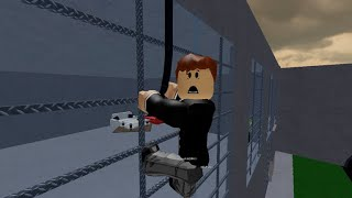 ROBLOX: PTD Gamer going to work arrested: Escape The Office Obby