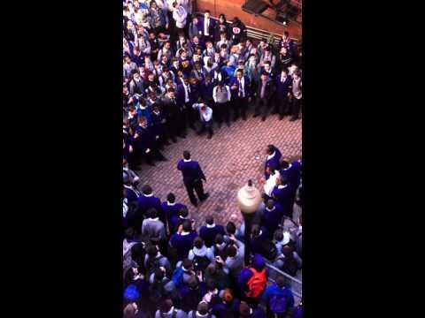 Roman Catholic High School Pep Rally
