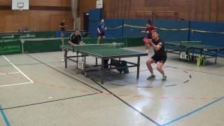 Heim Beilstein vs Schaub TV Erlangen A Kl Katzwang Tischtennis 20170506  15