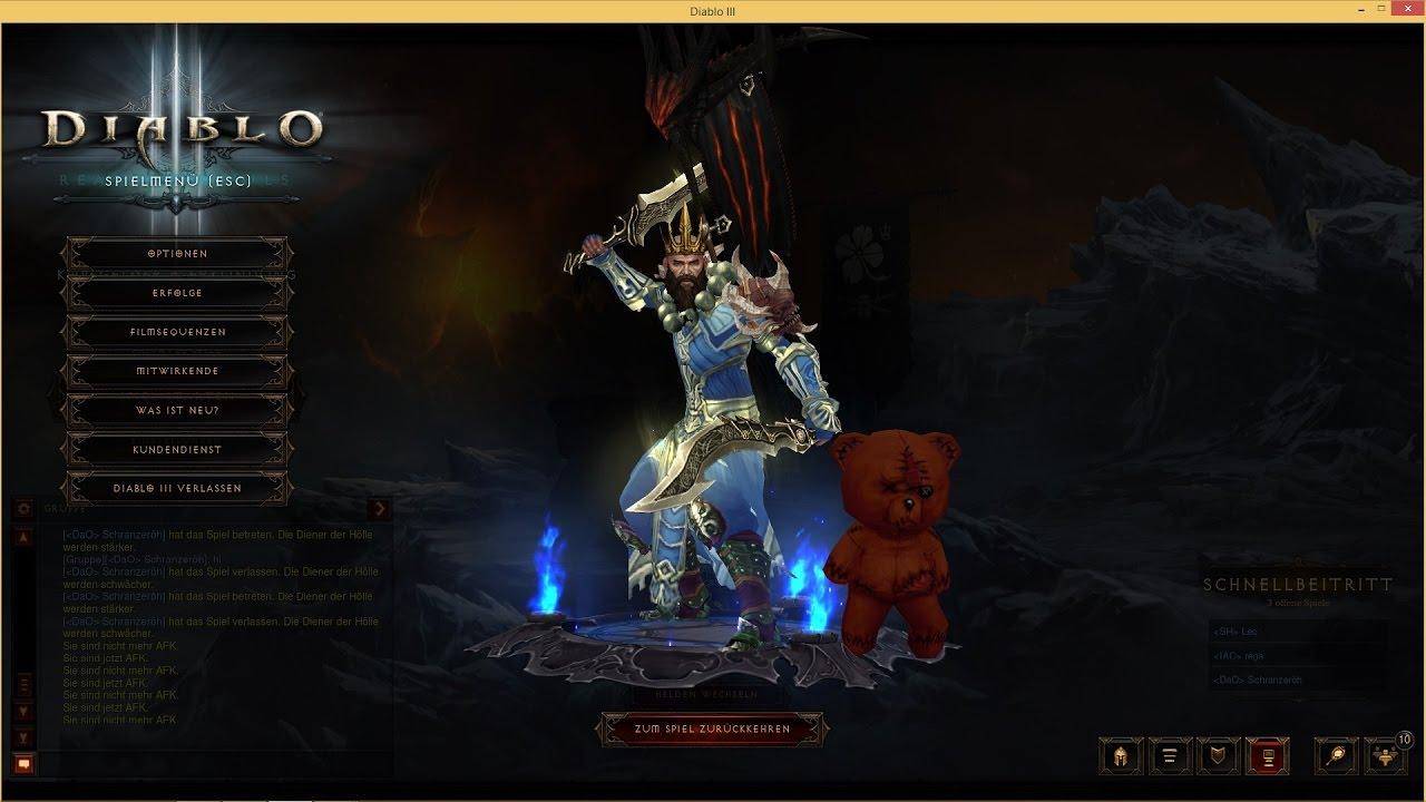 Diablo  Build Season  Monk