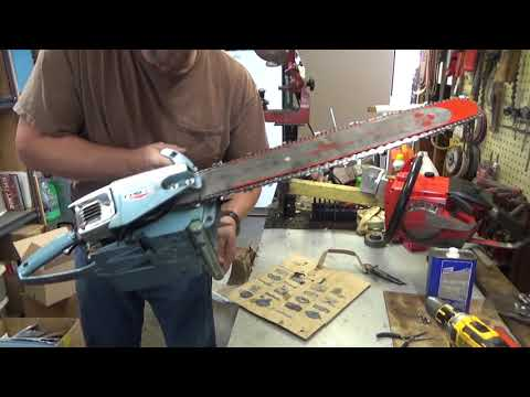 Homelite C-72 Chainsaw For My Collection - YouTube