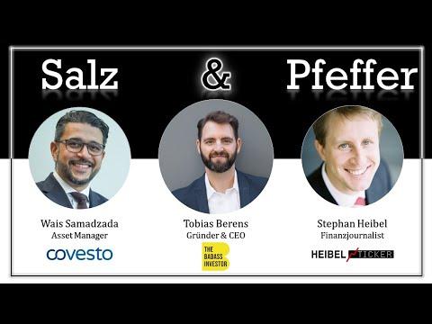Tobias Berens, Bitcoin-Trader, bei Salz & Pfeffer zum Mittag