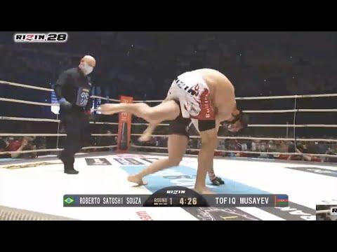 6/13  Tofiq Musayev VS Roberto Satoshi Souza  TKO Full Fight