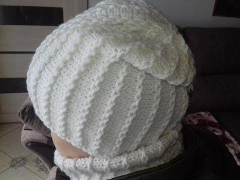 Вязание шапок на узелке вязание крючком шапки схема вязания шапок