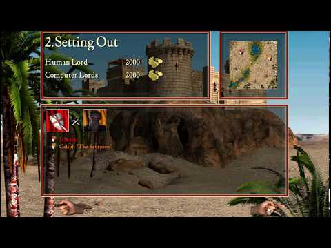 Stronghold C.1,  first and second Missions |