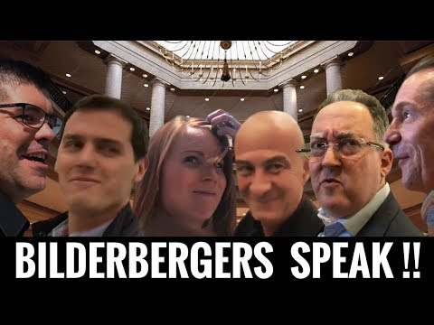 Bilderberg Group Members ACTUALLY SPEAK  On The Record !!!