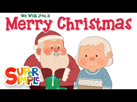 We Wish You A Merry Christmas Super Simple Songs Youtube