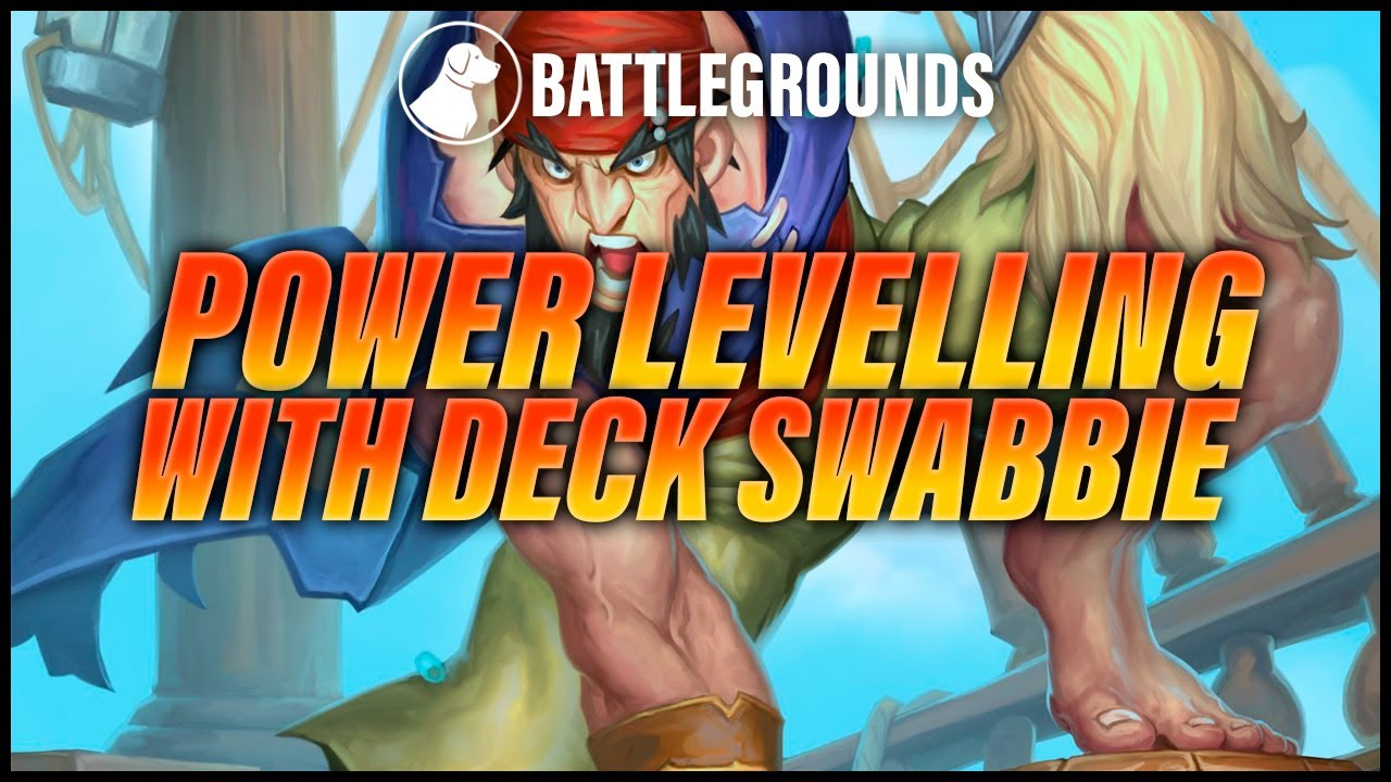 Power Levelling with Deck Swabbie | Dogdog Hearthstone Battlegrounds