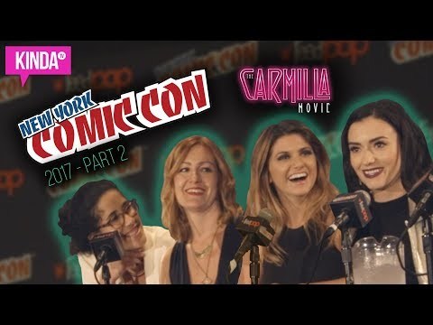 THE CARMILLA MOVIE @ NEW YORK COMIC CON! | Part 2 | KindaTV
