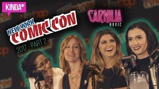 THE CARMILLA MOVIE @ NEW YORK COMIC CON! | Part 2 | KindaTV