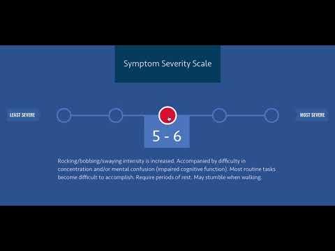 Symptoms of MdDS