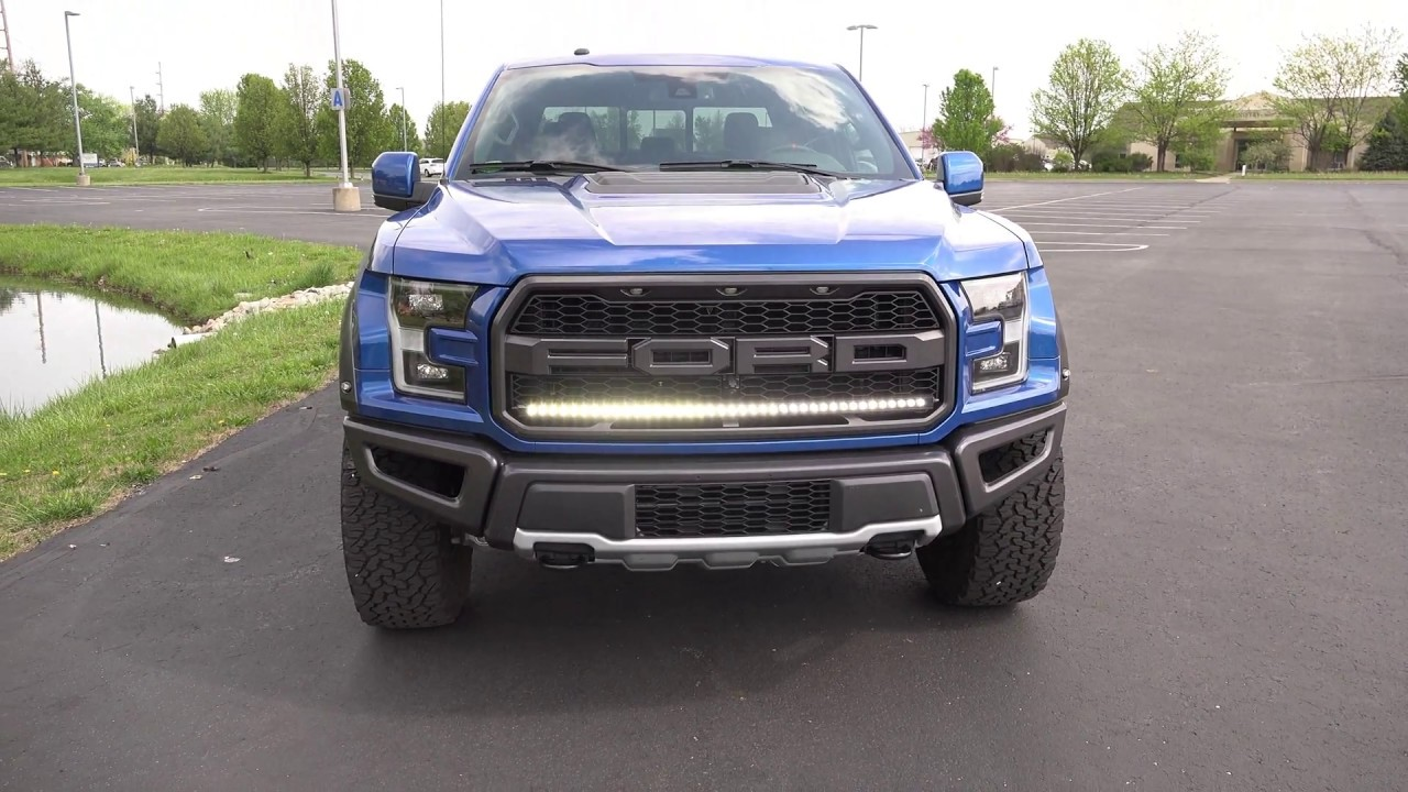 New Custom Mount Led Raptor Oem Grill Light Bar