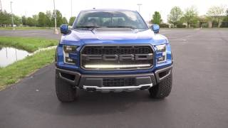 2017 F-150 Raptor Grill LED Light Bar Custom Accessories 17 2018 18 Ford Offroad