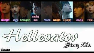 Download lagu Stray Kids Hellevator Sub Color Coded Letra MP3