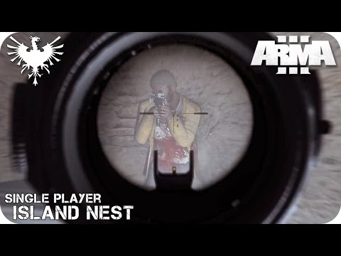 SINGLE PLAYER | ISLAND NEST | ArmA 3 Gameplay Español (1080p HD)