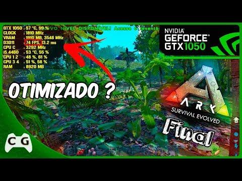GeForce GTX 1060 -- Intel Core i3-6300 -- ARK Survival