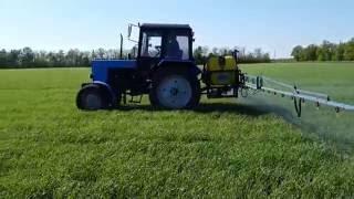 Трактор МТЗ 82.1 и Polmark 800 (гербицид + стимулятор роста)(Трактор МТЗ 82.1 и Polmark 800 (гербицид + стимулятор роста) https://youtu.be/hNlLpc3F9jM Трактор МТЗ 82.1 (Беларус) на сегодня..., 2016-05-20T19:02:09.000Z)