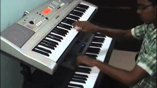 Oru madhurakinavin Remix Keyboard cover by Suryakiran G