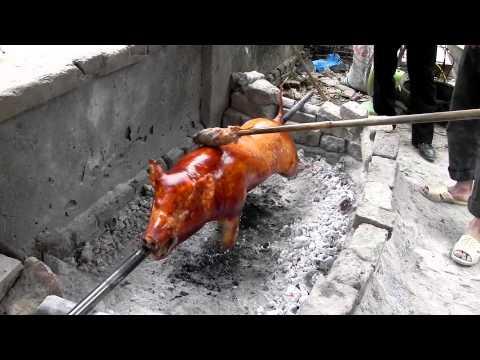 Lợn quay - Hữư Lũng - Lạng Sơn