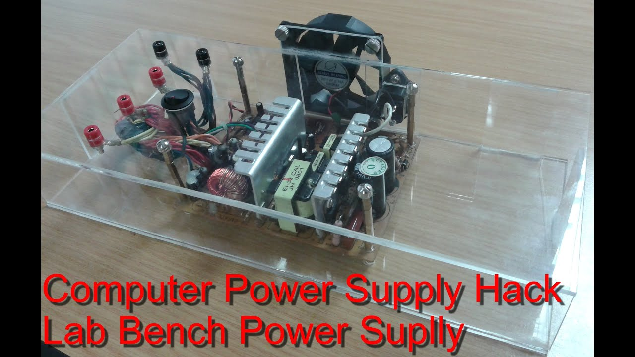 Laboratory power supply from a computer power supply DIY 78