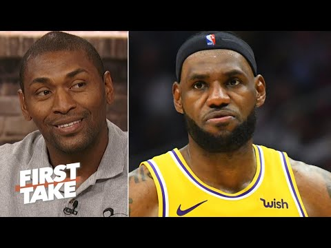 Metta World Peace: We cant expect LeBron to be the same as he was 10 years ago | First Take