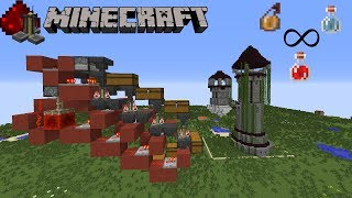 Crafteur de potion 100% automatique - 500 potions/h - Minecraft redstone tutoriel