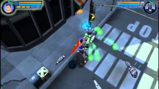 Justice League Heroes (PSP) gameplay