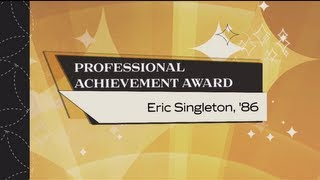 Eric Singleton, '07 - CECS Professional Achievement Awardee 2012