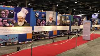 Exhibition at Jalsa USA 2018