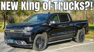homepage tile video photo for 2019 Chevy Silverado High Country Review - $70,000 FOR A TRUCK?!