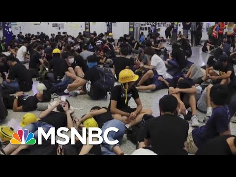 U.S. Watches As Pro-Democracy Protests Hit Hong Kong And Russia | MTP Daily | MSNBC