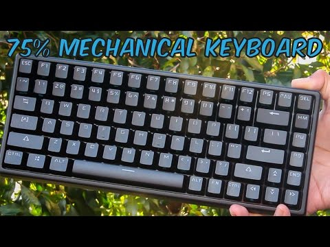 Drevo Gramr 84 75% Gaming Mechanical Keyboard - Unboxing & Review