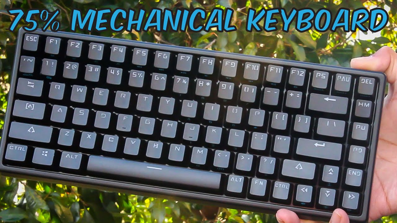 Drevo Gramr 84 75 Gaming Mechanical Keyboard Unboxin