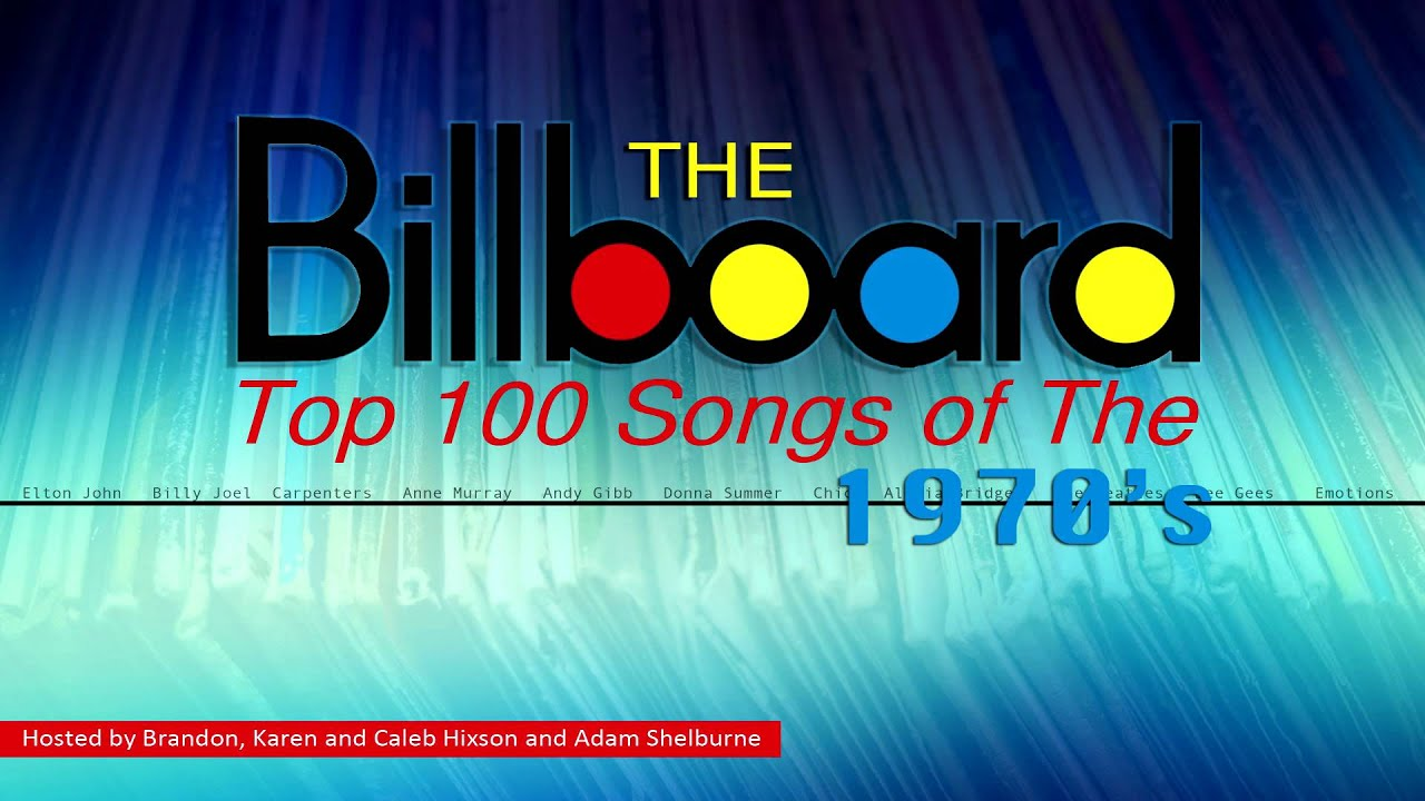 The Billboard Top 100 Songs Of The 1970 S Youtube