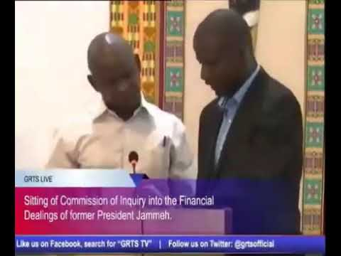 Former Solicitor General Pa Henry Jammeh Testifies At The Gambia Commission Of Enquiry