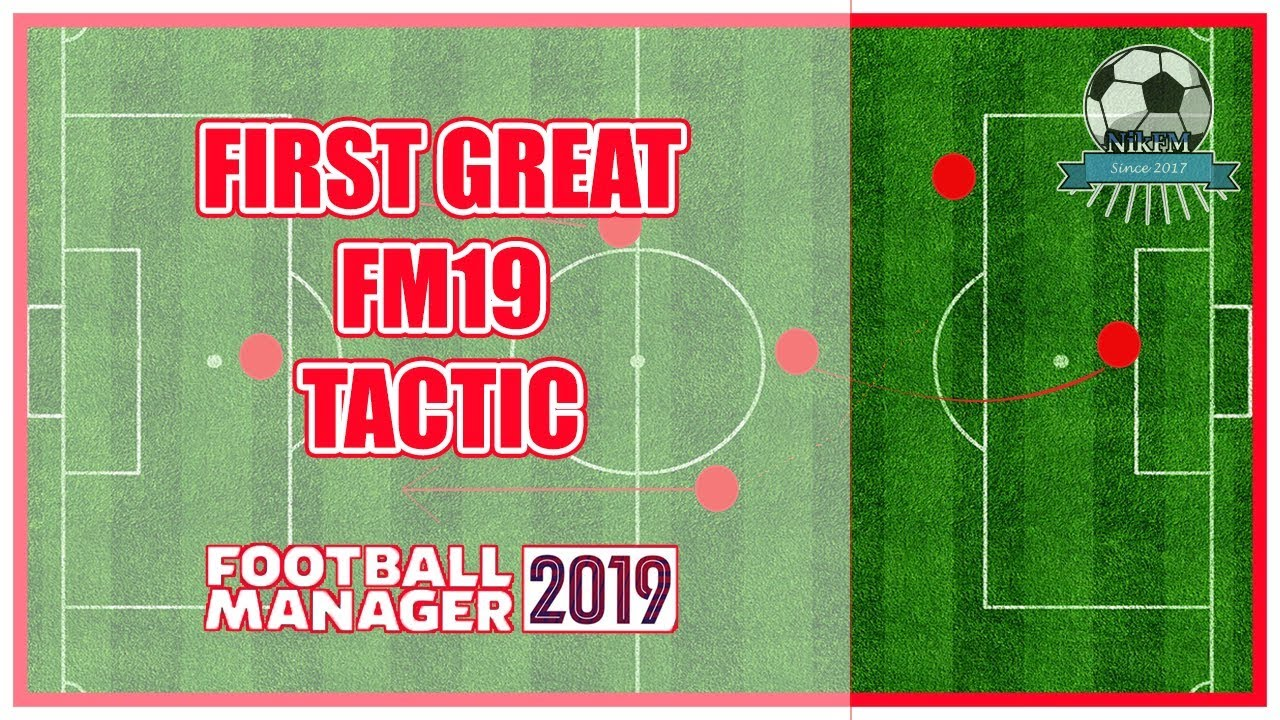 Winning FM19 Tactic - Football Manager 2019