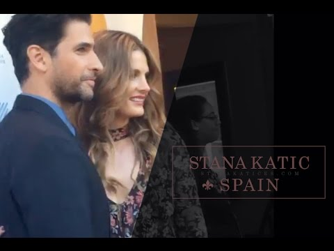 Stana Katic arriving & on the red carpet of The Rendezvous world premiere
