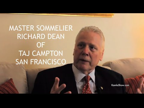 Wines & Food Pairing WIth Master Sommelier Richard Dean of  San Francisco's Taj Campton Place