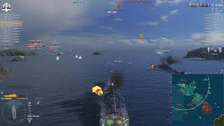 World of Warships - Tankiest BB in WoWS