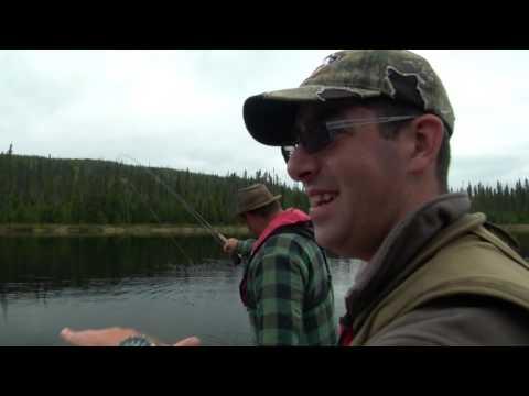 Pêche à la truite mouchetée à la pourvoirie du la Laflamme