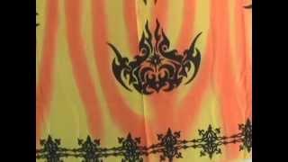 Buy Bulk Tropical Dress Bali Sarong Punk Design Wholesalesarong.com