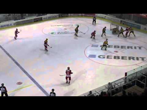Highlights: SCRJ Lakers vs SC Langenthal