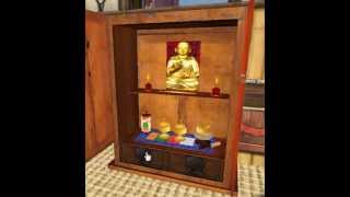 Butsudan - Cabinet Offering - Buddhist