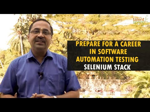 Prepare for a Career in Software Automation Testing | Selenium Stack | TalentSprint