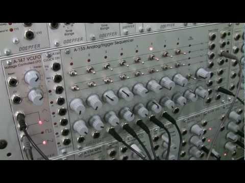 Doepfer A155 Analog/Trigger Sequencer- Frequency Modulation Tutorial