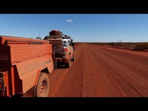 Australian Outback Highway (Great Central Road) trip to the Red Centre - Episode 2