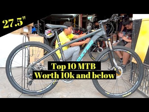 10 Budget Mountain Bikes Worth 10,000Php And Below (27.5