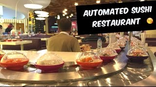 Fully Automated Sushi Restaurant | YO! Sushi Dubai Mall
